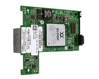 QLOGIC - 10GB DUAL CHANNEL MEZZANINE CONVERGED NETWORK ADAPTER (QME8242). SYSTEM PULL. (DELL DUAL LABEL)