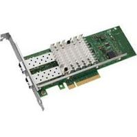 DELL - 10GB DUAL PORT PCI-E 2.0 X8 LOW PROFILE CONVERGED NETWORK ADAPTER WITH HIGH PROFILE BRACKET (G18786-003). SYSTEM PULL.