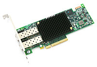 EMULEX LPE16202-X LIGHTPULSE GEN5 DUAL PORT (8GFC, 16GFC OR 10GBE FCOE) PCI-E 3.0 FIBRE CHANNEL CONVERGED FABRIC ADAPTER. NEW FACTORY SEALED.
