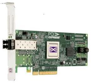 EMULEX LPE12000-E 8GB SINGLE CHANNEL PCI-EXPRESS 2.0 X8 FIBRE CHANNEL HOST BUS ADAPTER WITH STANDARD BRACKET CARD ONLY. SYSTEM PULL.