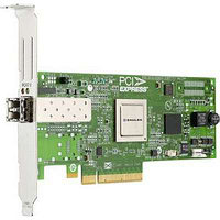 DELL LPE12000-E 8GB SINGLE CHANNEL PCI-EXPRESS 2.0 X8 FIBRE CHANNEL HOST BUS ADAPTER WITH STANDARD BRACKET CARD ONLY.