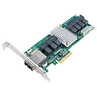 ADAPTEC 2283400-R 82885T 12GB/S 36 PORTS PCIE SAS-SATA EXPANDER CONTROLLER CARD NO CABLE. NEW FACTORY SEALED.