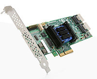 ADAPTEC ASR-6445 RAID 6445 SINGLE, 6GB/S SAS, PCI EXPRESS 2.0 X8, PLUG-IN CARD ONLY,RAID SUPPORTED - 0, 1, 10, 1E, 5, 6, 50, 60, JBOD RAID LEVEL,8