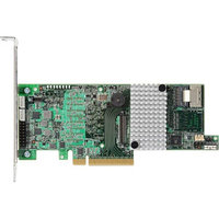 LSI LOGIC 9266-4I SGL 6GB/S 4PORT INT PCI-E SATA+SAS RAID CONTROLLER WITH 1GB DDRIII CACHE MEMORY. NEW FACTORY SEALED.
