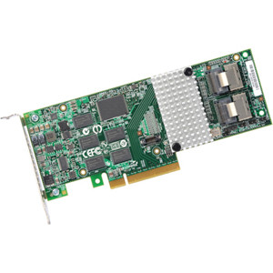 LSI LOGIC L5-25239-22 MEGARAID 9261-8I 6GB 8PORT PCI EXPRESS 2.0 X8 SATA/SAS RAID CONTROLLER WITH 512MB CACHE. NEW FACTORY SEALED.