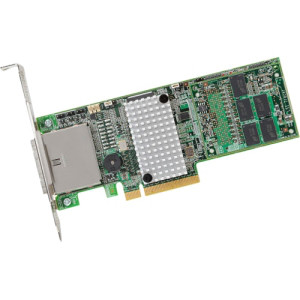 LSI LOGIC LSI00332 6GB MEGARAID SAS 9286-8E 8PORT PCI-EXPRESS 3.0 SAS SATA RAID CONTROLLER WITH 1GB CACHE. NEW FACTORY SEALED.