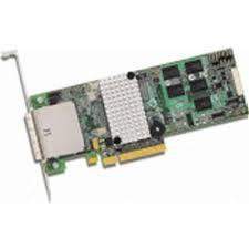 LSI LOGIC L5-25152-24 MEGARAID 9280-8E 6GB 8PORT PCI EXPRESS X8 LOW PROFILE SAS/SATA RAID CONTROLLER 512MB. NEW FACTORY SEALED.