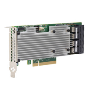 BROADCOM 05-25708-00 16 INTERNAL PORTS, RAID 0/1/5/50/6 PCI-EXP 3.0, 2G DDRIII, MD2,12GB/S SAS CONTROLLER, NO CBL W/SW/LP BRACKET. NEW FACTORY SEALED.