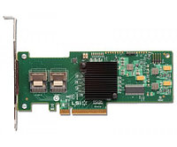 IBM 46C8933 SERVERAID M1015 8CHANNEL PCI-E X8 SAS/SATA RAID CONTROLLER WITHOUT BRACKET. SYSTEM PULL.
