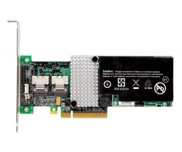 IBM 68Y7332 SERVERAID M5015 PCI-EXPRESS 2.0 X8 SAS SATA RAID CONTROLLER WITH BATTERY. GROUND SHIP ONLY.