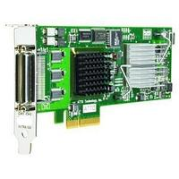 HP AH627B STORAGEWORKS DUAL CHANNEL PCI-EXPRESS X4 ULTRA320E LVD SCSI HOST BUS ADAPTER.
