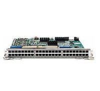 DELL 8HP69 48-PORT HIGH DENSITY 10/100/1000BASE-T LINE CARD WITH RJ45 INTERFACES FOR E300.