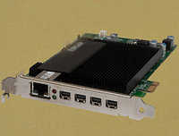 DELL WCWRN TERADICI TERA 2240 PCOIP PCIE 3.0 X1 REMOTE ACCESS HOST CARD,TERA2240 CHIP(1)ONE LAN RJ-45 PORT(4)FOUR MINI DISPLAY PORTS.