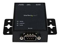 STARTECH - 1 PORT RS232 SERIAL TO IP ETHERNET CONVERTER / DEVICE SERVER - ALUMINUM - DEVICE SERVER (NETRS2321P). NEW FACTORY SEALED.