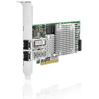 HP NC522SFP DUAL PORT 10GBE SERVER ADAPTER NETWORK ADAPTER - PCI EXPRESS 2.0 X8 - 2 PORTS. NEW FACTORY SEALED.HP NC522SFP DUAL PORT 10GBE SERVER