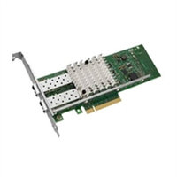 DELL 540-BBBB DUAL PORT X520 DA 10-GB SERVER ADAPTER ETHERNET PCIE NETWORK INTERFACE CARD.