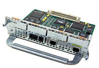 CISCO - (NM-1FE1CT1) 1PORT FAST ETHERNET 1PORT CHANNELIZED T1/ISDN-PRI NETWORK EXPANSION MODULE.