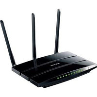 TP-LINK - TL-WDR4300 WIRELESS N750 DUAL BAND ROUTER, GIGABIT, 2.4GHZ 300MBPS+5GHZ 450MBPS, 2 USB PORT, WIRELESS ON/OFF SWITCH - 2.40 GHZ ISM BAND - 5