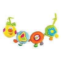 "Игрушка-подвес Happy Snail ""Весёлая гусеница Камилла"""