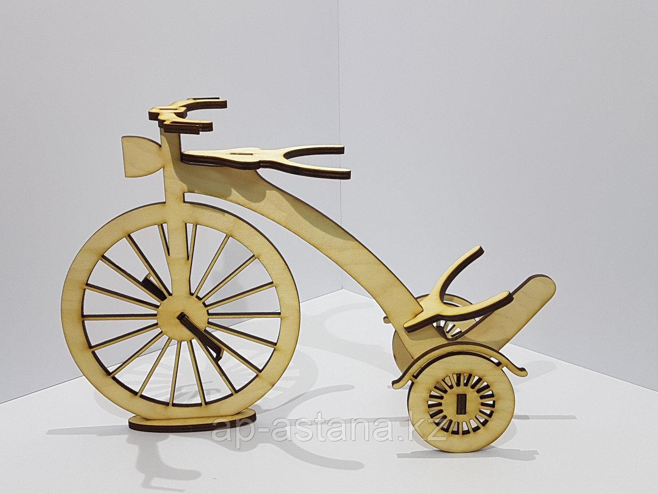 "Подставка под вино. Велосипед. - Полиграфия ""Академия печати"" в Астане"
