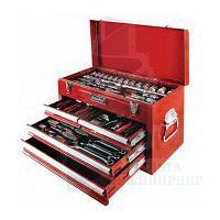 Инструментальный ящик с набором инструмента AmPro T47100, 117 позиций