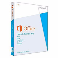 Офисный пакет Microsoft Office Home and Business 2013 32/64 Russian CEE Only EM DVD