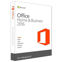 Офисный пакет Microsoft Office Home and Business 2016 32-bit/x64 Russian Kazakhstan Only DVD