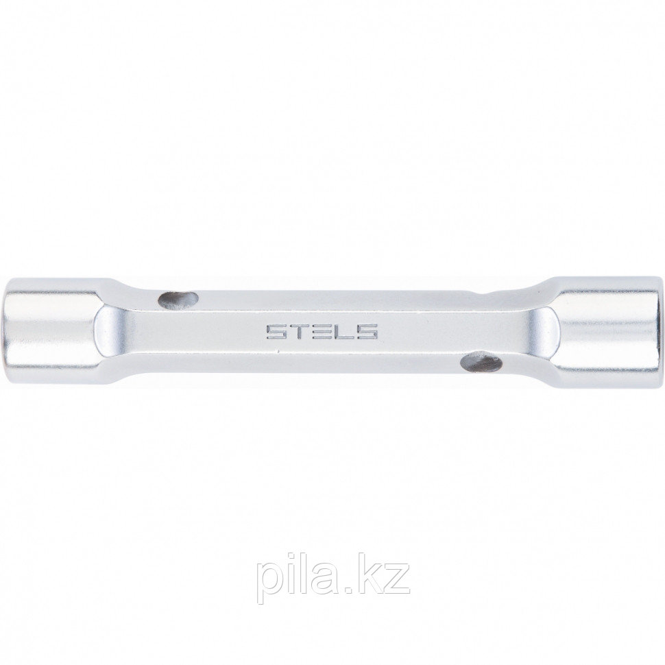Ключ трубка торцевой усиленный, 16х17 мм, CrV Stels