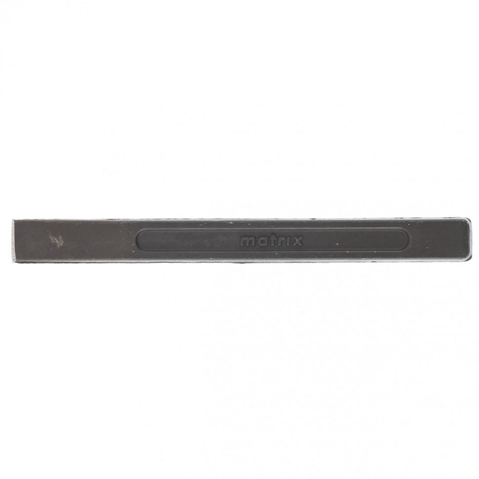 Зубило, 160х15 мм, CrMo, оксидированное MATRIX
