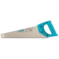 """Ножовка для работы с ламинатом """"PIRANHA"""",360 мм,15-16 TPI,зуб-2D,каленый зуб,пласт.рук-ка GROSS"""