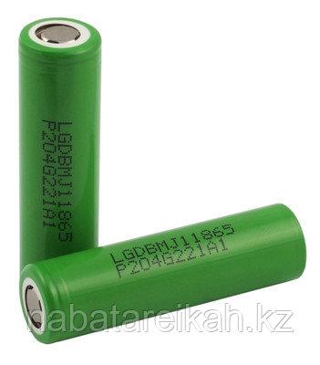 Аккумуляторы Li-ion 18650 LG MJ1 3500 мАч 10A