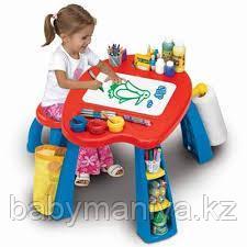 Развивающий игровой набор столик и стульчик
