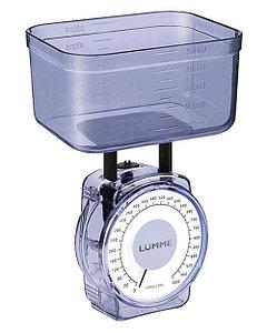 Весы кухонные LUMME LU-1301 механические синие