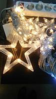 Новогодние гирлянды световые по индивидуальным эскизам