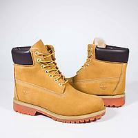 Ботинки Timberland 6-Inch Premium Waterproof Boot Yellow (на меху) b69dec7f82d76