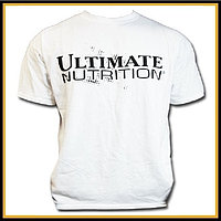 Футболка белая Ultimate Nutrition размер - XL