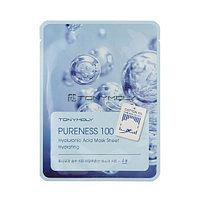 Тканевая маска для лица с гиалуроновой кислотой / Tony Moly Pureness 100 Hyaluronic Acid Mask Sheet Hydrating