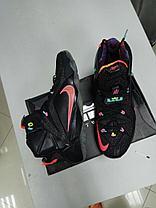 Баскетбольные кроссовки Nike Lebron XII (12) Black from Lebron James, фото 2