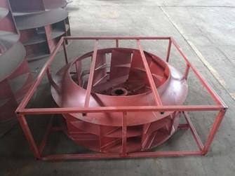 Рабочее колесо вентилятора G4-73-14D (правосторонний)