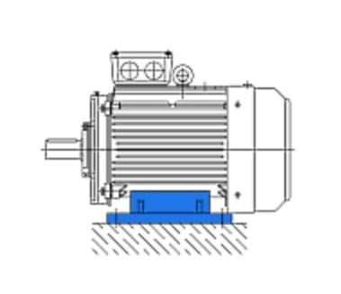 Электродвигатель VB-1601104-W, 4 кВт