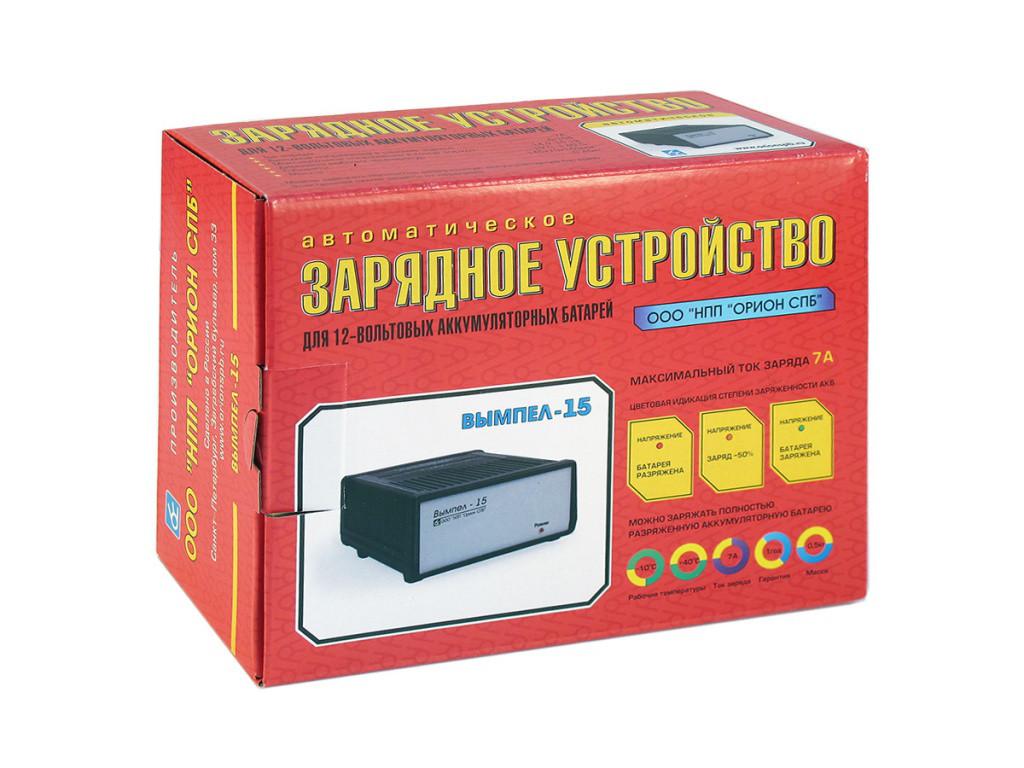 Автомобильное Зарядное устройство ВЫМПЕЛ-15