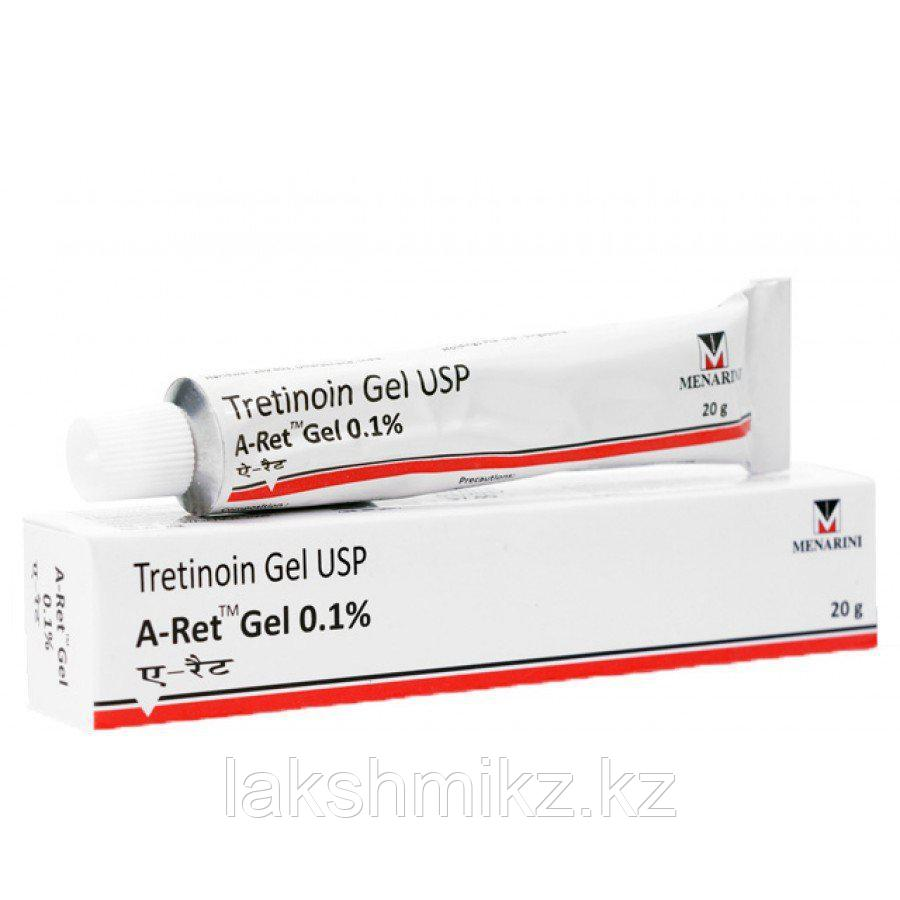 Третиноин гель 0,1% Tretinion gel