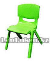 Детский стульчик 43 см (сидушка В22*Ш21) зеленый