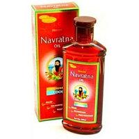 """Аюрведическое масло для волос и массажа """"Навратна"""", 100 мл (Navratna oil)"""