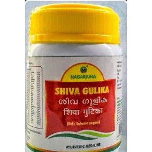 Шива гулика, Шива гутика, Shiva gulica, Nagarjuna, 50 таб. Очищает лимфатическую систему.
