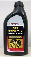 Масло для АКПП ATF TYPE T-4 TOYOTA 946ml/1 U,S, quart