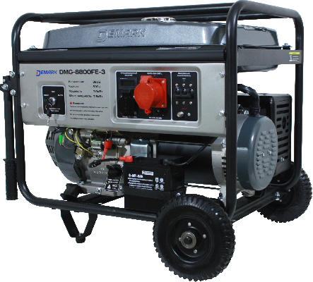 Бензиновый трехфазный генератор DEMARK DMG 8800 FE 3
