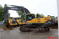 Запчасти на экскаватор Volvo (Вольво) EC460