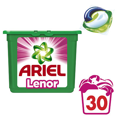 Капсулы для стирки Ariel PODS Touch of Lenor Fresh 30 шт.