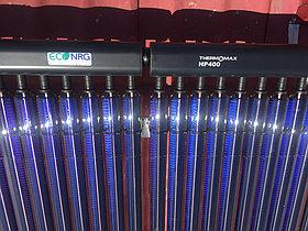 Солнечная водонагревательная станция Kingspan Thermomax HP400, мощностью 14,53 кВт в детском саду с. Акши, Алматинская обл